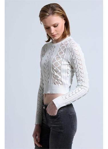 Love'n Fashion Paris Bluz Ekru